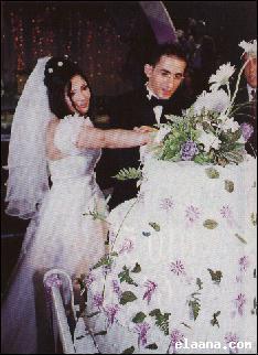 mariage de mona zaki et ahmed helmy - sabah